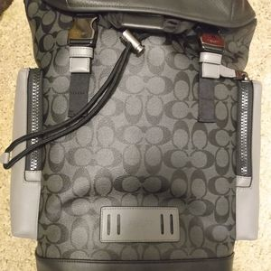 MENS Coach camper style backpack.